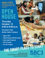 More info on the Open House.
