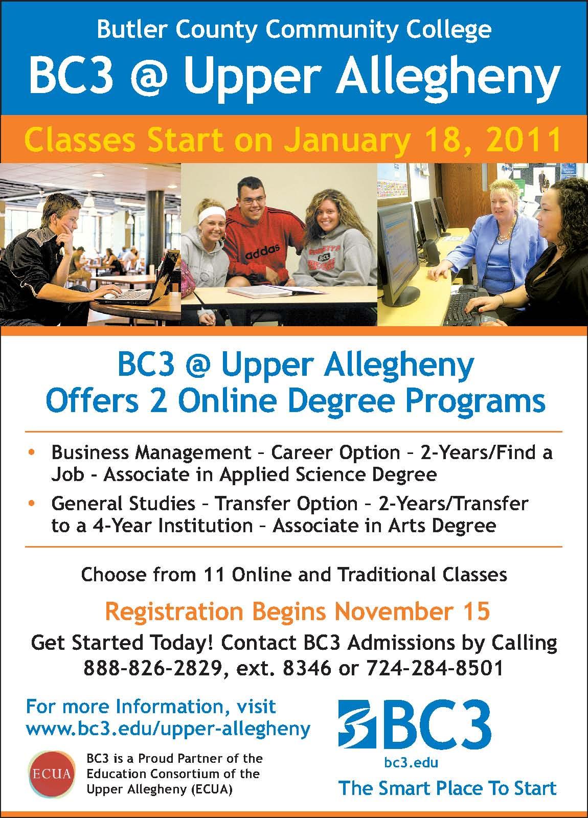 BC3 @ Upper Allegheny   BC3 President's Blog