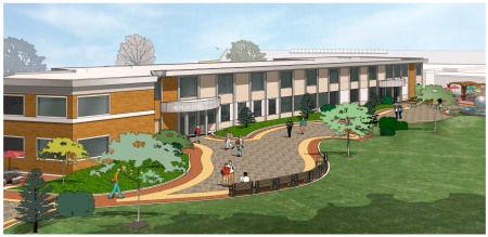 BCC Rear Plaza View 2