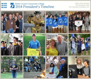 2014 President's Timeline